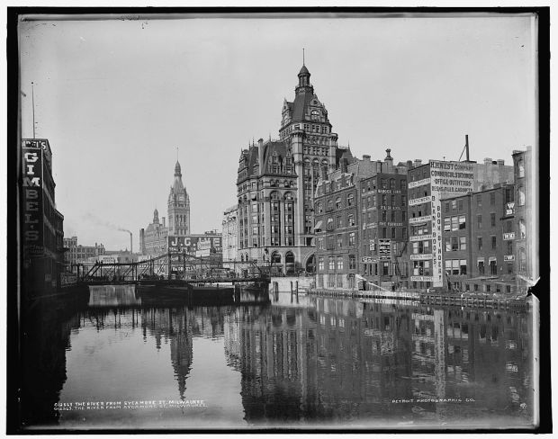 Flashback Friday: Downtown Milwaukee, 1901