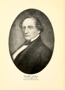 Solomon Juneau at age 60.
