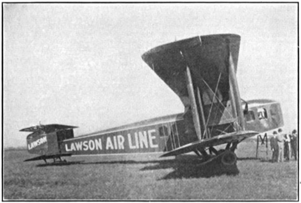 Although one of its designers thought it resembled a streetcar with wings, the Lawson C-2 seated 18 passengers in comfort.