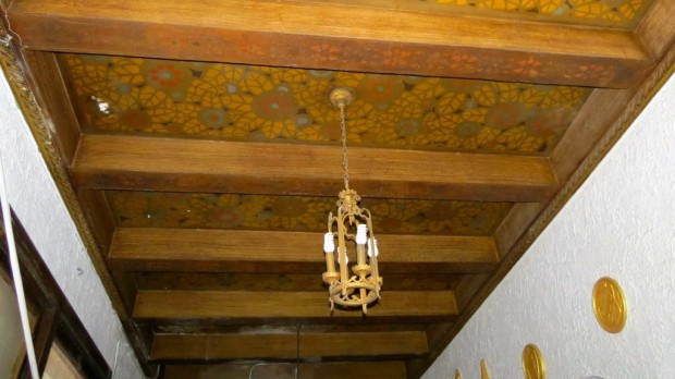 Lobby ceiling. Sean Oster photo