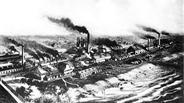 Built on the southern half of Jones Island in the 1870s, the North Chicago Rolling Mill Co. quickly became one of the city's major employees. In 1886, the mill became the scene of a deadly labor dispute.