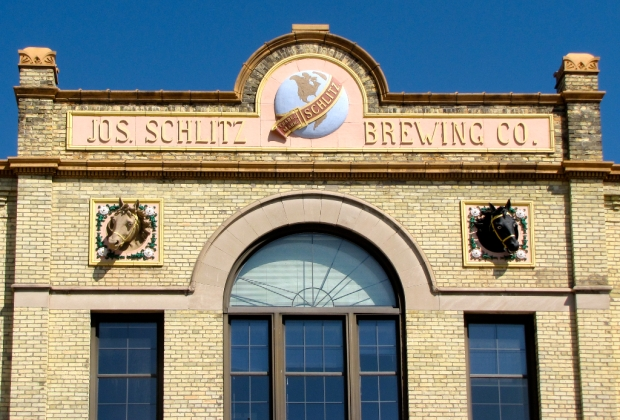 The buildings in the former Schlitz Brewing Co. complex are reminders of a one-time powerhouse in brewing. Carl Swanson photo