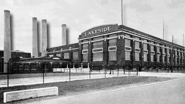 The Lakeside Power Pant in St. Francis was the scene of a fatal electrocution of a demonstrator during the transit strike of 1934.