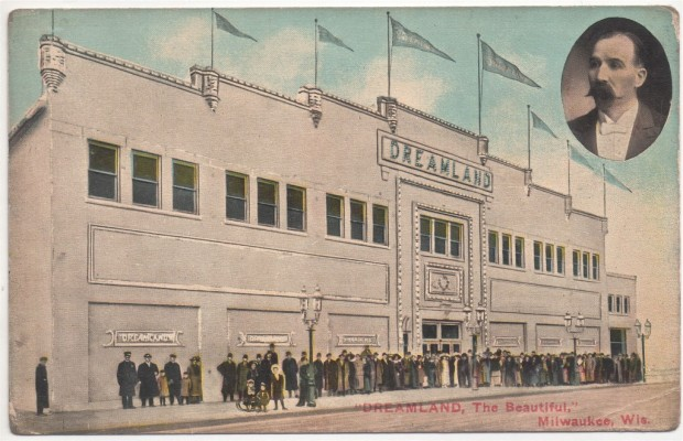 From its start as a venue for boxing and roller skating, Dreamland evolved in the early 1900s into a ballroom, the elegance of which, the management suggested, made it Milwaukee's