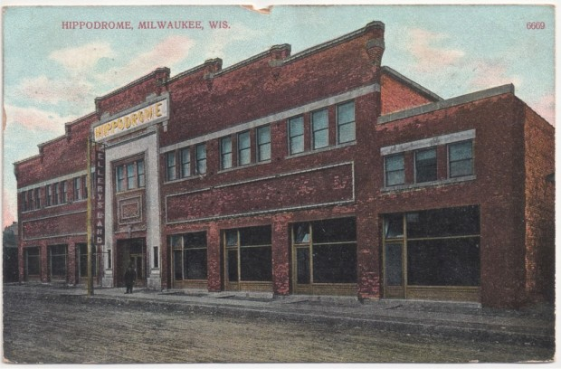 Before it became Dreamland in 1912, the building was a multi-use facility called the Hippodrome. Carl Swanson collection