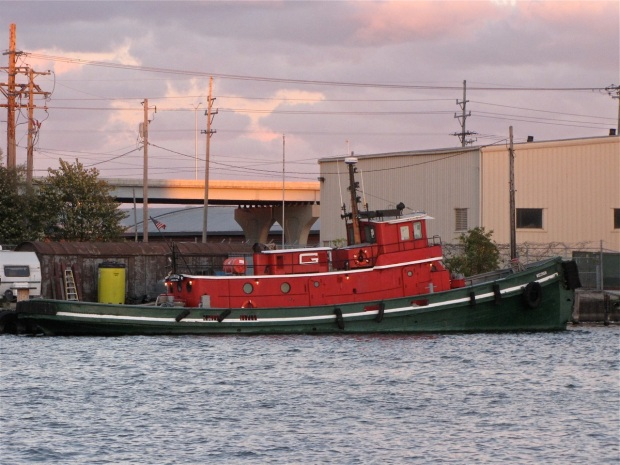 Graced with elegant, flowing lines, the tugboat Wisconsin is owned by Great Lakes Towing, which provides tugboat and other marine services across the entire Great Lakes, including Milwaukee. Carl Swanson photo