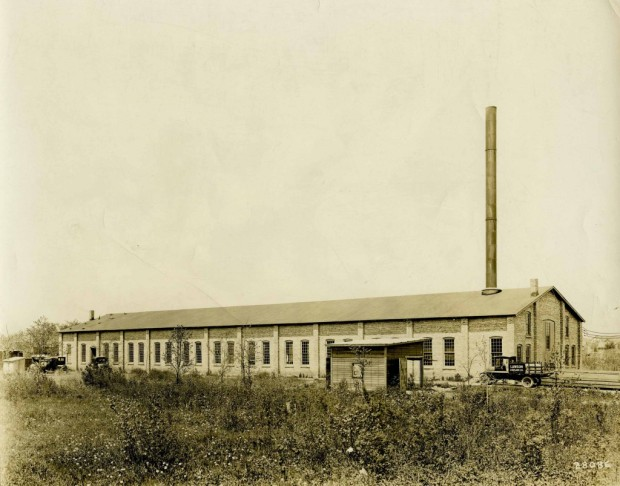 The South Milwaukee factory of the Lawson Aircraft Co.