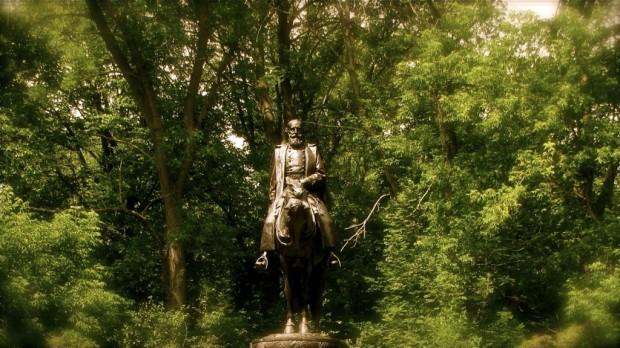 Erastus B. Wolcott statue