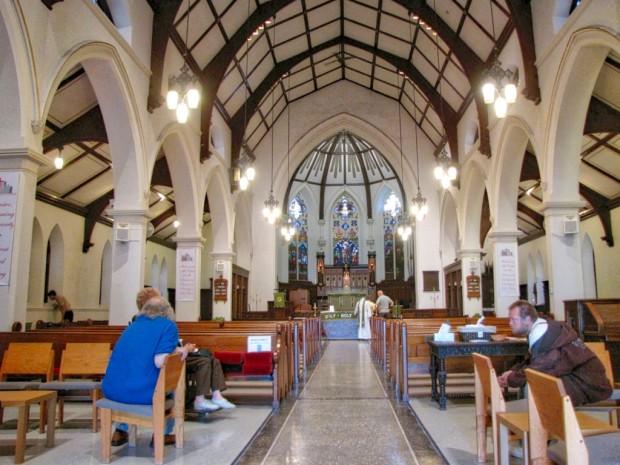 St. James interior