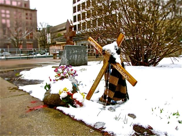 Dontre Hamilton memorial