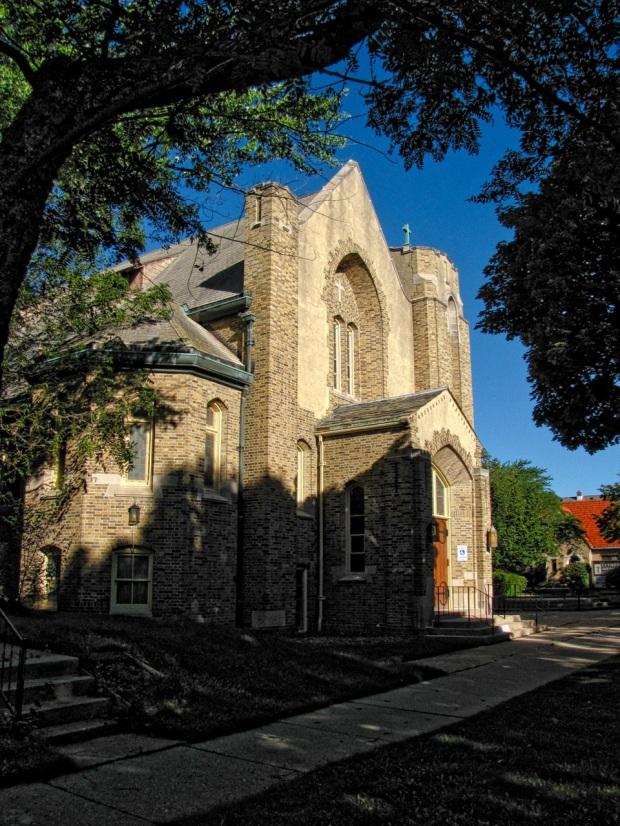 Luther Memorial Chapel entry doors