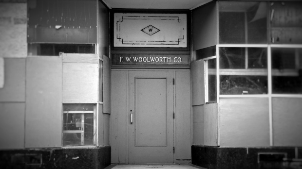 Former Woolworth store