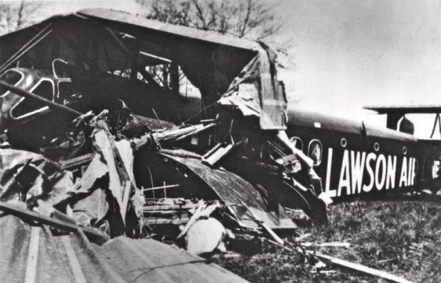 Lawson South Milwaukee crash scene