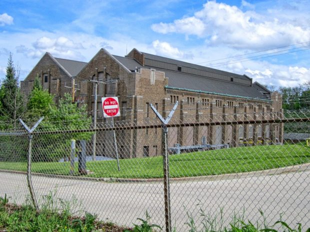 west end of Milwaukee RIver Pumping Station