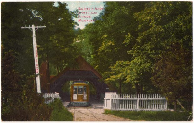 Soldiers' Home trolley station