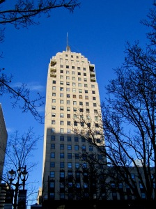 At 22 stories, the Wisconsin Tower was the second tallest in the city when completed in 1930. Carl A. Swanson photo