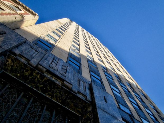 Originally offices, the Milwaukee Tower was converted into condominums in 2005 but retains much of its original Art Deco details. Carl A. Swanson photo